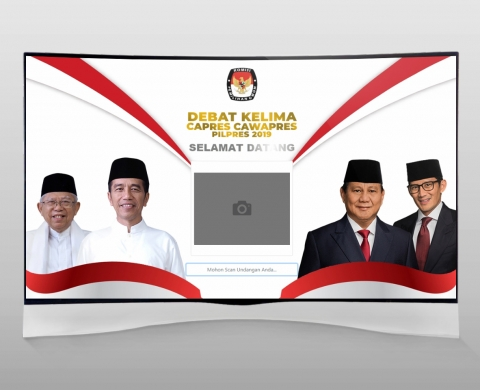 Debat Pilpres 2019 Inf. System